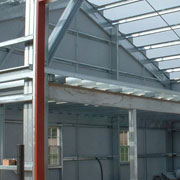 Steel Building Construction Project